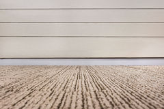 Empty room with wall and  carpeting floor. Empty room with wall and carpeting floor Royalty Free Stock Photos