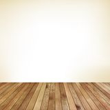 Empty room with wall and wooden floor. EPS 10 Stock Images