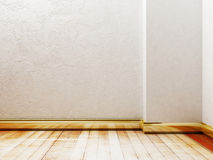 Empty room in the warm colors, Royalty Free Stock Images