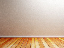 Empty room in the warm pleasant colors Stock Image