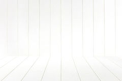 Empty room with white wall and wooden. Empty room with white wall and wooden floor Stock Photos