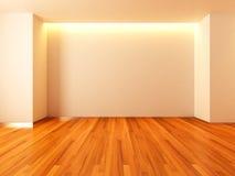 Empty room white wall Stock Photos