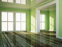 Empty room wiht a doorway Stock Photography