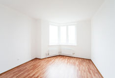 Empty room with window Royalty Free Stock Images