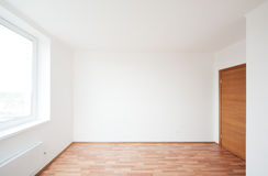 Empty room with window Royalty Free Stock Image