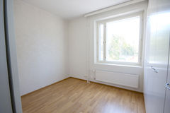 Empty room with window Royalty Free Stock Photo