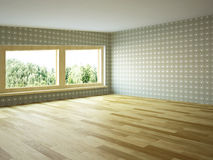 Empty room Royalty Free Stock Image