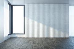 Empty room with window Stock Image