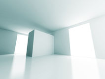 Empty Room Window Light Design Architecture Background Stock Image