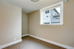 Empty room with window Stock Photos