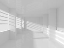 Empty Room with Windows Royalty Free Stock Image