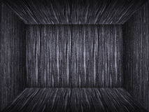 Empty room in wood texture Stock Photography