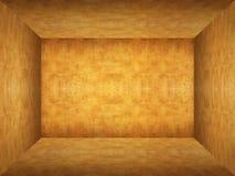 Empty room in wood texture Stock Photo