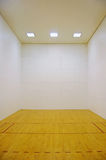 Empty Room with Wooden Floor Royalty Free Stock Images