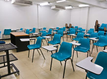 Empty room wth many armchairs. Can be use as classroom or metting room Royalty Free Stock Photo