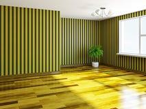 The  empty room Stock Image