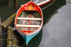Empty Rowing Boat Stock Photography