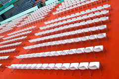 Empty rows of seats Royalty Free Stock Image