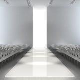 Empty runway. 3d render fashion empty runway Stock Photo