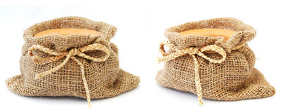 Empty sack Royalty Free Stock Photo