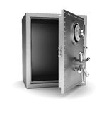 Empty safe Royalty Free Stock Photo