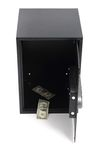 Empty safe without money. Isolated on the white background Stock Photography