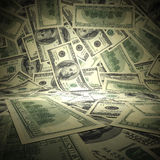 Empty scene surface from american dollars. Stock Photography