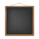 Empty school blackboard for your message Stock Image