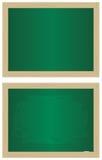 Empty school blackboards Stock Images
