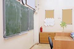 Empty school class Stock Images