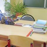 Empty school class Stock Image