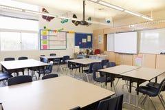 Empty school classroom Royalty Free Stock Photo