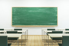 Empty school classroom Royalty Free Stock Images
