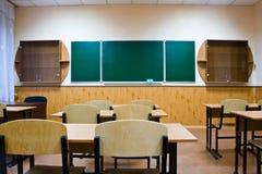 Empty school room Stock Photos