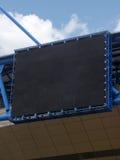 Empty scoreboard. On a football stadium, Kharkiv Royalty Free Stock Photography