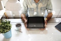 Empty Search bar. Web site, URL. Business, internet and technology concept. Royalty Free Stock Photo