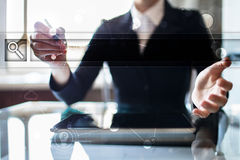 Empty Search bar. Web site, URL. Business, internet and technology concept. Stock Photos