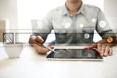 Empty Search bar. Web site, URL. Business, internet and technology concept. Empty Search bar. Web site, URL. Business, internet and technology concept Royalty Free Stock Image