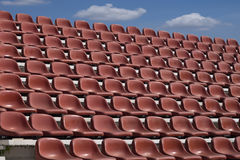 Empty seat of football stadium. Stock Photography