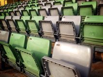 Empty seat. In hockey stadium Royalty Free Stock Images