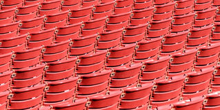 Empty Seating at chicago amphitheater millenium pa Stock Photography