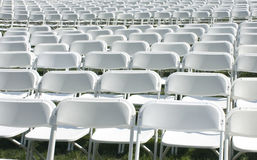 Empty seats Royalty Free Stock Photography