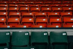 Empty seats Royalty Free Stock Photos