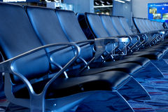 Empty Seats at Airport Gate. Seating Stock Photos