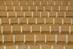 Empty seats. In auditorium, in front of the stage royalty free stock photography