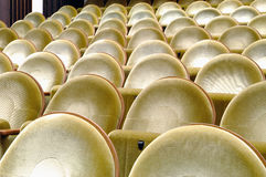 Empty seats in the cinema Stock Images