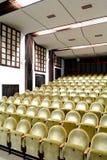 Empty seats in the cinema Stock Photo