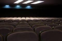 Empty seats. Concert or cinema hall seats Stock Photography