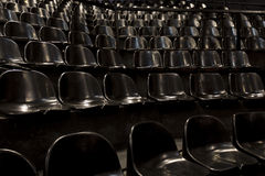 Empty seats in a concert hall. Waiting for the audience Stock Photo