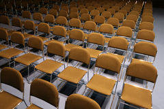 Empty seats in the event hall Stock Images
